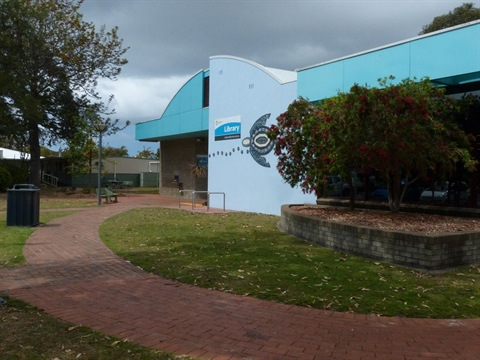Forster Library Entrance