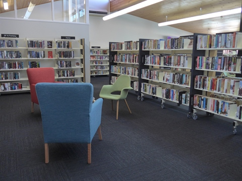 Gloucester Library Seating